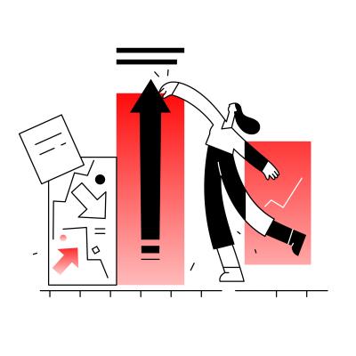 Grow Your Business analytics arrow