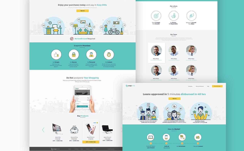 ui ux design idea for screen mint
