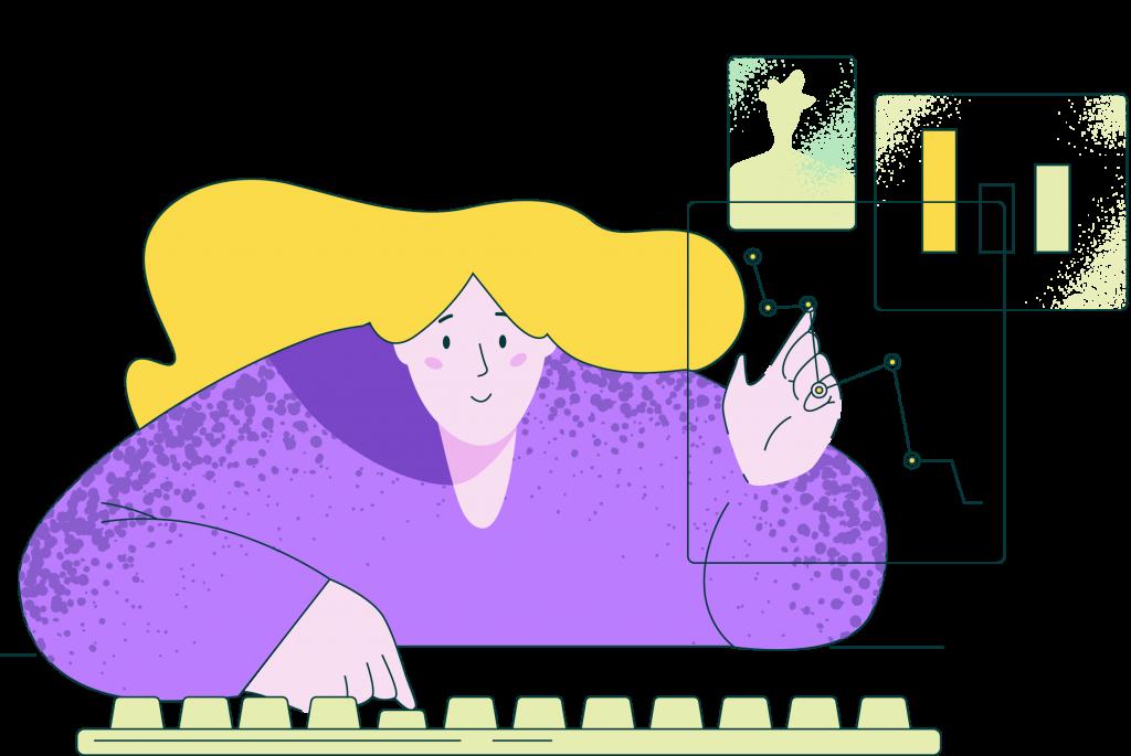 website marketing illustrations